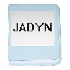 Jadyn Digital Name Design baby blanket