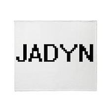 Jadyn Digital Name Design Throw Blanket