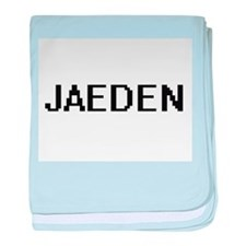 Jaeden Digital Name Design baby blanket