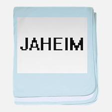Jaheim Digital Name Design baby blanket