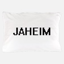 Jaheim Digital Name Design Pillow Case