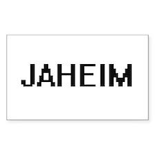 Jaheim Digital Name Design Decal
