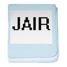 Jair Digital Name Design baby blanket