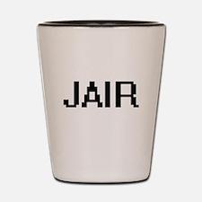 Jair Digital Name Design Shot Glass
