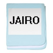 Jairo Digital Name Design baby blanket