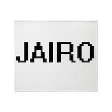 Jairo Digital Name Design Throw Blanket