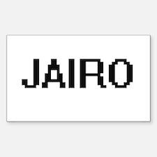Jairo Digital Name Design Decal