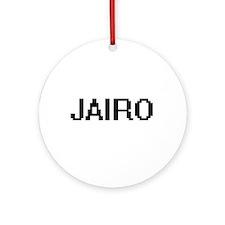Jairo Digital Name Design Ornament (Round)