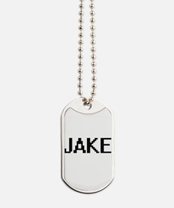 Jake Digital Name Design Dog Tags