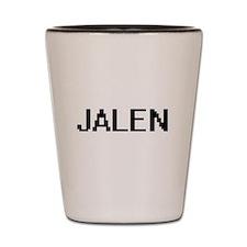 Jalen Digital Name Design Shot Glass