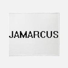 Jamarcus Digital Name Design Throw Blanket