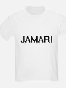 Jamari Digital Name Design T-Shirt