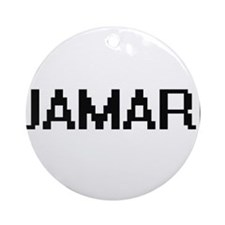 Jamari Digital Name Design Ornament (Round)