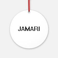 Jamari Digital Name Design Ornament (Round)