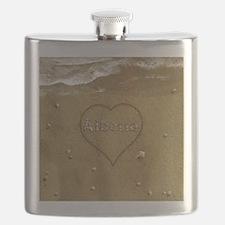 Alberta Beach Love Flask