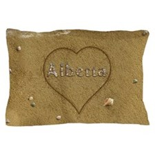 Alberta Beach Love Pillow Case