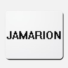Jamarion Digital Name Design Mousepad
