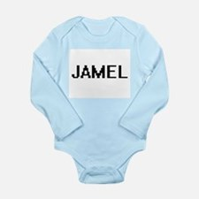 Jamel Digital Name Design Body Suit