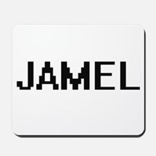 Jamel Digital Name Design Mousepad