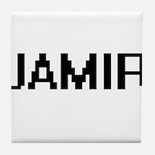 Jamir Digital Name Design Tile Coaster