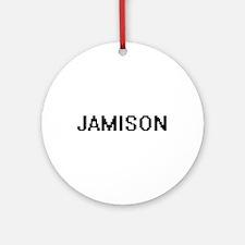 Jamison Digital Name Design Ornament (Round)