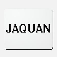 Jaquan Digital Name Design Mousepad