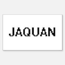Jaquan Digital Name Design Decal