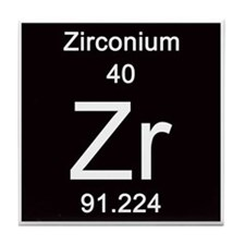 40. Zirconium Tile Coaster