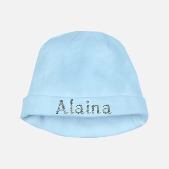 Alaina Seashells baby hat