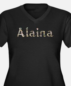 Alaina Seashells Plus Size T-Shirt