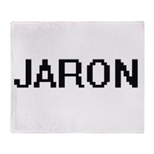 Jaron Digital Name Design Throw Blanket