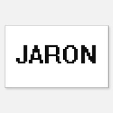 Jaron Digital Name Design Decal