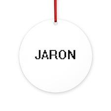 Jaron Digital Name Design Ornament (Round)