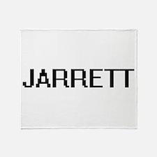 Jarrett Digital Name Design Throw Blanket
