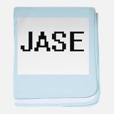 Jase Digital Name Design baby blanket