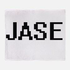 Jase Digital Name Design Throw Blanket