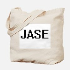 Jase Digital Name Design Tote Bag
