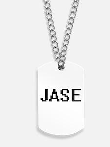 Jase Digital Name Design Dog Tags