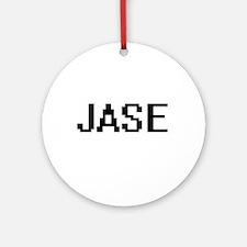 Jase Digital Name Design Ornament (Round)