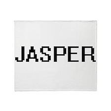 Jasper Digital Name Design Throw Blanket