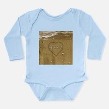 Aidan Beach Love Long Sleeve Infant Bodysuit