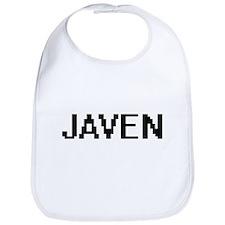 Javen Digital Name Design Bib