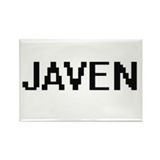 Javen Digital Name Design Magnets