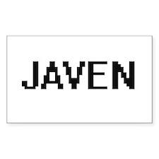 Javen Digital Name Design Decal
