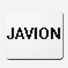 Javion Digital Name Design Mousepad
