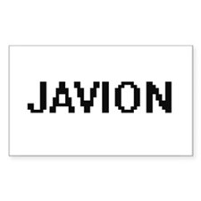 Javion Digital Name Design Decal