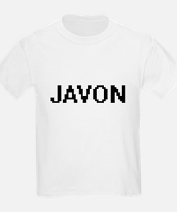 Javon Digital Name Design T-Shirt