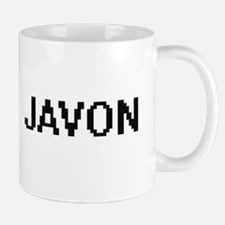 Javon Digital Name Design Mugs