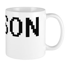 Jaxson Digital Name Design Mug