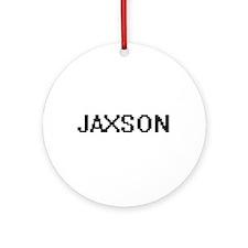 Jaxson Digital Name Design Ornament (Round)